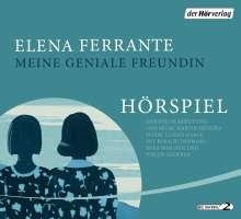 Elena Ferrante: Meine geniale Freundin - Das Hörspiel, 4 CDs