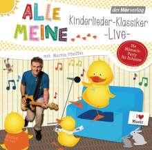 Alle meine Kinderlieder-Klassiker live, CD