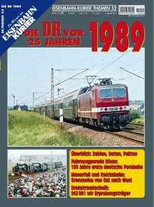 EK-Themen 52. Die DR vor 25 Jahren - 1989, Buch