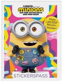 Minions - Auf der Suche nach dem Mini-Boss: Stickerspaß, Buch