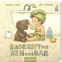 Michael Engler: Badezeit mit Ben und Bär, Buch