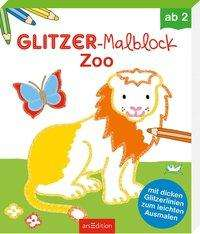 Glitzer-Malblock Zoo, Buch
