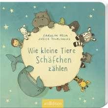 Carolin Helm: Wie kleine Tiere Schäfchen zählen, Buch