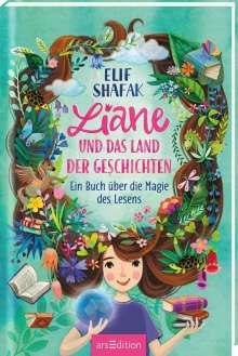 Elif Shafak: Liane und das Land der Geschichten, Buch
