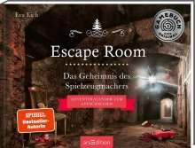 Eva Eich: Escape Room. Das Geheimnis des Spielzeugmachers. Das Original: Der neue Escape-Room-Adventskalender von Eva Eich, Buch