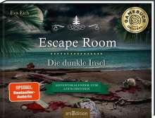 Eva Eich: Escape Room. Die dunkle Insel. Adventskalender zum Aufschneiden, Buch