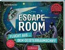 Jens Schumacher (geb. 1974): Escape Room - Flucht aus dem Geisterraumschiff, Buch