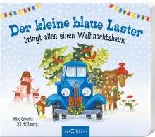 Alice Schertle: Der kleine blaue Laster bringt allen einen Weihnachtsbaum, Buch