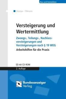 Bernd Stumpe: Versteigerung und Wertermittlung, Buch