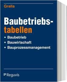 Volker Barenberg: Baubetriebstabellen, Buch