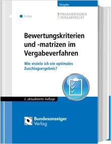 Frederic Delcuve: Bewertungskriterien und -matrizen im Vergabeverfahren, Buch