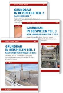 Wolfram Dörken: Grundbau in Beispielen nach Eurocode 7 - Teile 1 bis 3, Buch