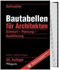 Klaus-Jürgen Schneider: Schneider - Bautabellen für Architekten, Buch
