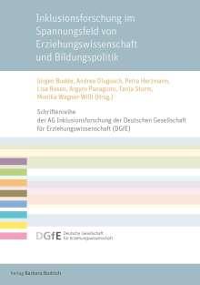 Inklusionsforschung im Spannungsfeld von Erziehungswissenschaft und Bildungspolitik, Buch
