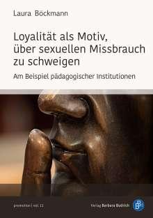 Laura Böckmann: Loyalität als Motiv, über sexuellen Missbrauch zu schweigen, Buch
