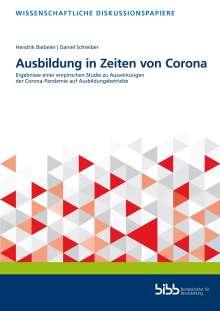 Hendrik Biebeler: Ausbildung in Zeiten von Corona, Buch
