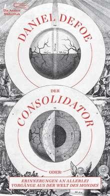 Daniel Defoe: Der Consolidator, Buch