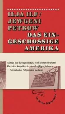 Ilja Ilf: Das eingeschossige Amerika, Buch
