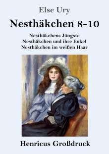Else Ury: Nesthäkchen Gesamtausgabe in drei Großdruckbänden (Großdruck), Buch
