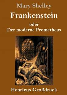 Mary Shelley: Frankenstein oder Der moderne Prometheus (Großdruck), Buch