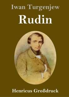 Iwan Turgenjew: Rudin (Großdruck), Buch