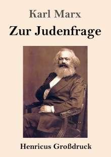 Karl Marx: Zur Judenfrage (Großdruck), Buch