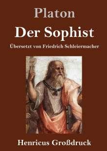 Platon: Der Sophist (Großdruck), Buch