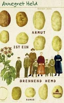Annegret Held: Armut ist ein brennend Hemd, Buch
