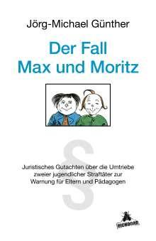 Jörg-Michael Günther: Der Fall Max & Moritz, Buch