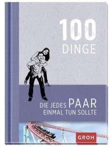 100 Dinge, die jedes Paar einmal tun sollte, Buch