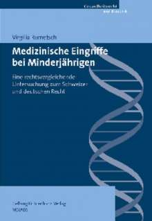 Virgilia Rumetsch: Medizinische Eingriffe bei Minderjährigen, Buch