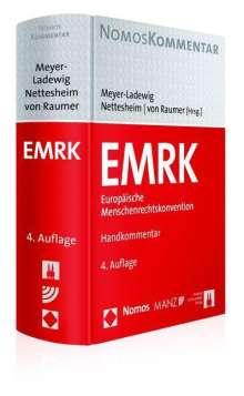 Jens Meyer-Ladewig: EMRK Europäische Menschenrechtskonvention, Buch
