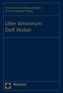 Liber Amicorum Dolf Weber, Buch