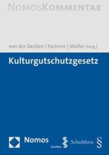Kulturgutschutzgesetz, Buch