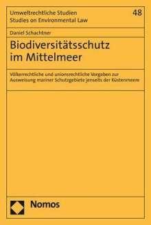 Daniel Braun: Biodiversitätsschutz im Mittelmeer, Buch