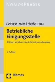 Betriebliche Einigungsstelle, Buch