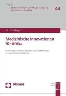 Katrin Gerlinger: Medizinische Innovationen für Afrika, Buch