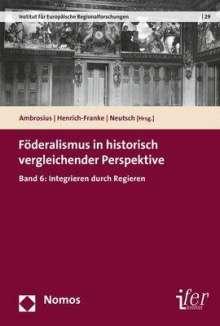 Föderalismus in historisch vergleichender Perspektive, Buch