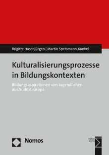 Brigitte Hasenjürgen: Kulturalisierungsprozesse in Bildungskontexten, Buch