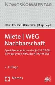 Miete - WEG - Nachbarschaft, Buch
