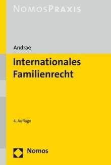 Marianne Andrae: Internationales Familienrecht, Buch