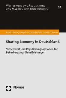 Christoph Busch: Sharing Economy in Deutschland, Buch