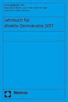 Jahrbuch für direkte Demokratie 2017, Buch
