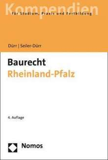 Hansjochen Dürr: Baurecht Rheinland-Pfalz, Buch