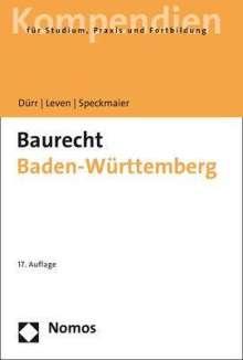 Hansjochen Dürr: Baurecht Baden-Württemberg, Buch