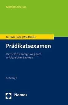 Philipp Ter Haar: Prädikatsexamen, Buch