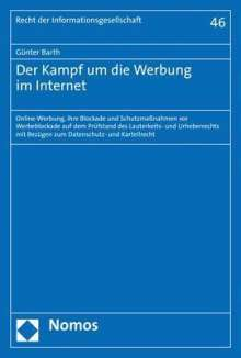 Günter Barth: Der Kampf um die Werbung im Internet, Buch