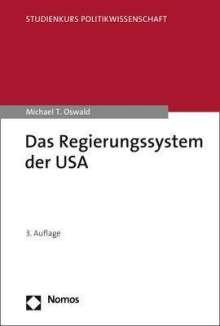 Michael T. Oswald: Das Regierungssystem der USA, Buch