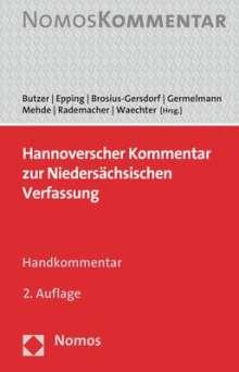 Hannoverscher Kommentar zur Niedersächsischen Verfassung, Buch