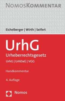 Jan Eichelberger: Urheberrechtsgesetz, Buch